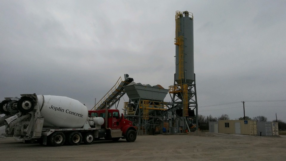 New Plant Joplin Concrete